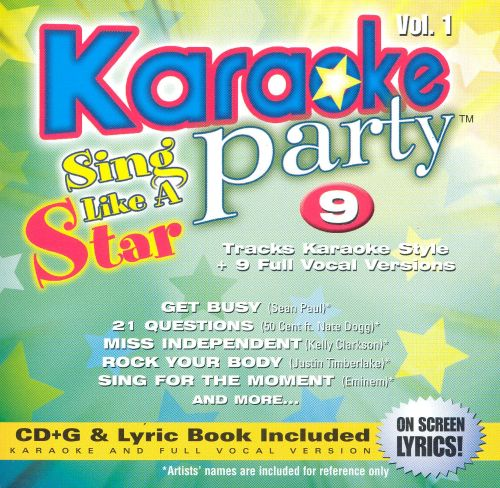 Karaoke Party! Sing Like a Star, Vol. 1