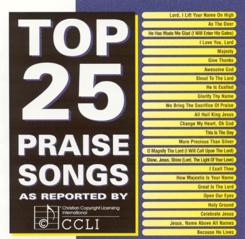 Top 25 Praise Songs