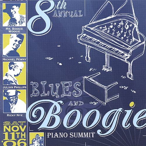 Highlights from the Eighth Annual Blues & Boogie Piano Summit