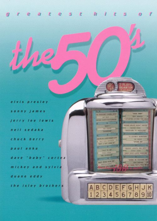 Greatest Hits of the 50's [BMG Greeting Card CD]