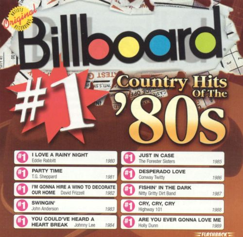 Billboard 1 country hits of the 80 39 s various artists for 80 s house music list