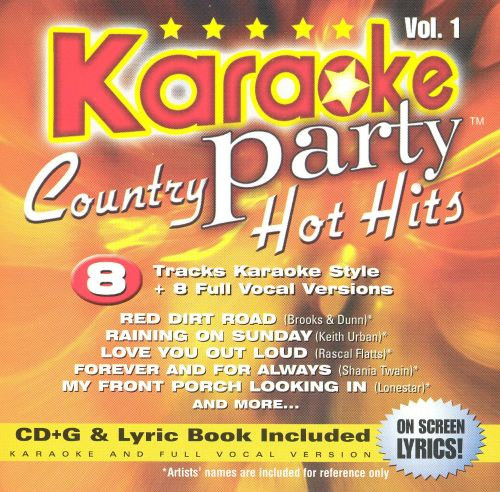 Karaoke Party! Country Hot Hits, Vol. 1