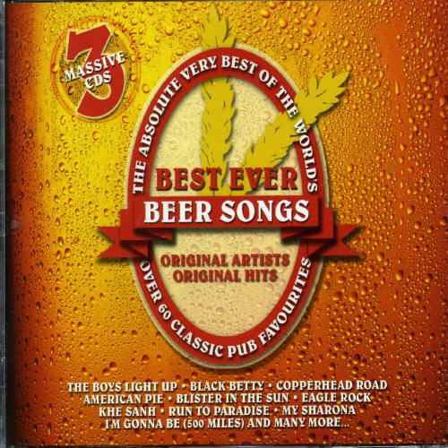 Absolute Very Best of the World's Best Ever Beer Songs [CD]