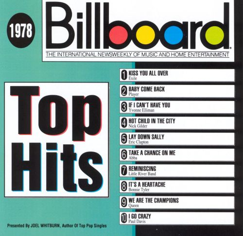 Billboard Top Hits: 1978