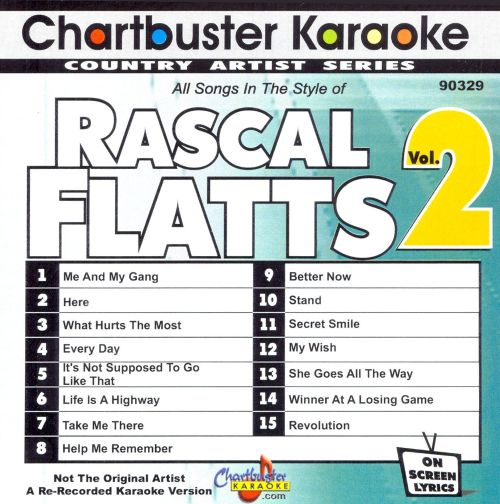 Karaoke: Rascal Flatts, Vol. 2