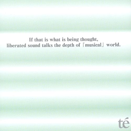 If That Is What Is Being Thought, Liberated Sound Talks the Depth Of [Musical] World
