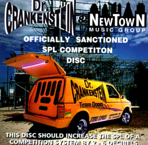 Dr. Crankenstein: Officially Sanctioned SPL Competition Disc