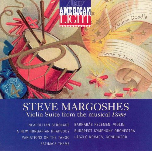 Steve Margoshes: Violin Suite from the musical Fame