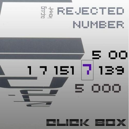 Rejected Number