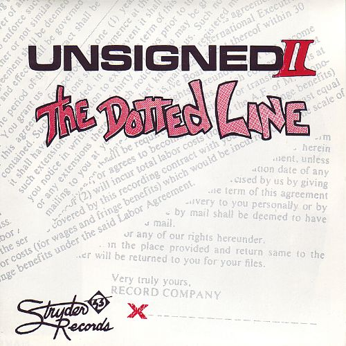 Unsigned, Vol. 2: The Dotted Line