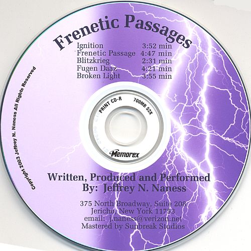 Frenetic Passages