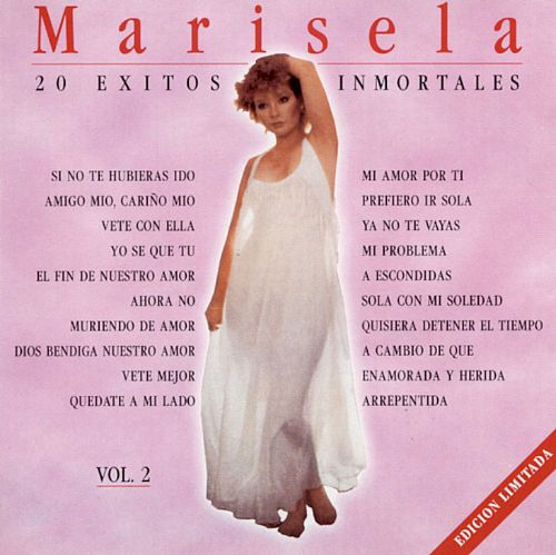 marisela 20 exitos inmortales vol 1