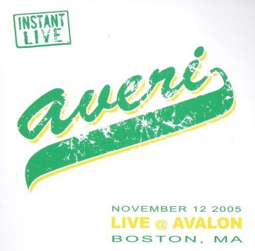 Instant Live: Avalon - Boston, MA. 11/12/05