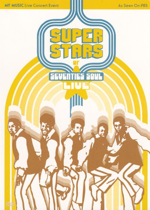 Superstars of Seventies Soul: Live [Sony]