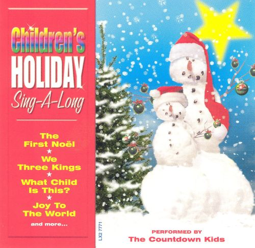 Children's Holiday Sing-A-Long