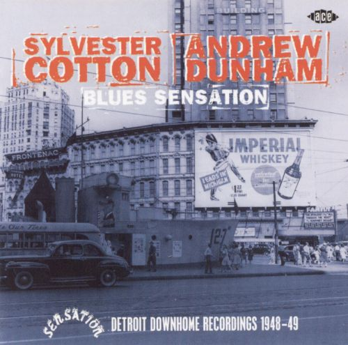 Blues Sensation: Detroit Downhome Recordings 1948-1949