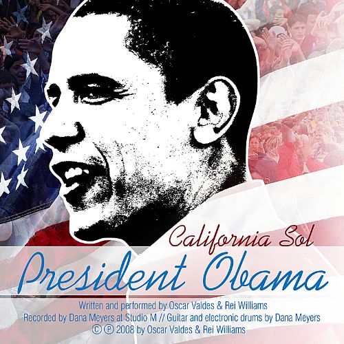 President Obama by California Sol