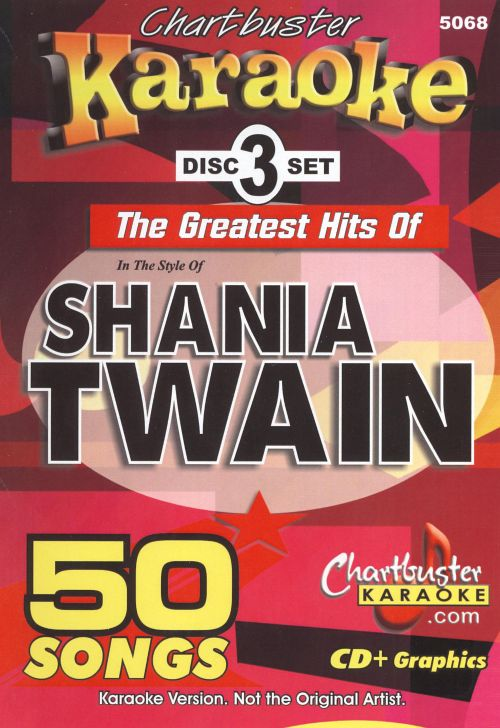 Chartbuster Karaoke: The Greatest Hits of Shania Twain