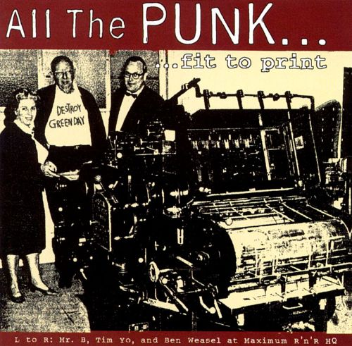 All the Punk Fit to Print