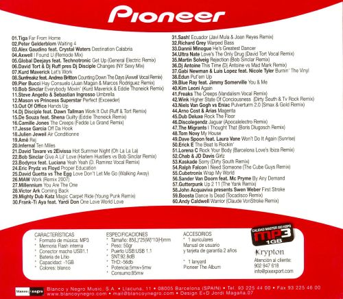 Pioneer The Album Vol 8 Mp3 Various Artists Songs Reviews