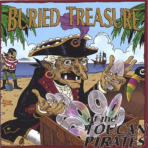 Buried Treasure of the Toucan Pirates