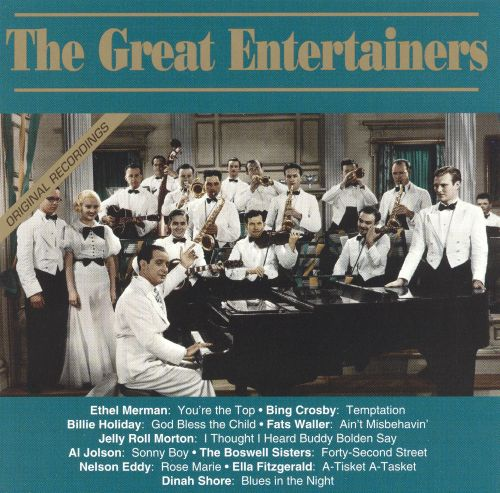 The Great Entertainers [#3]