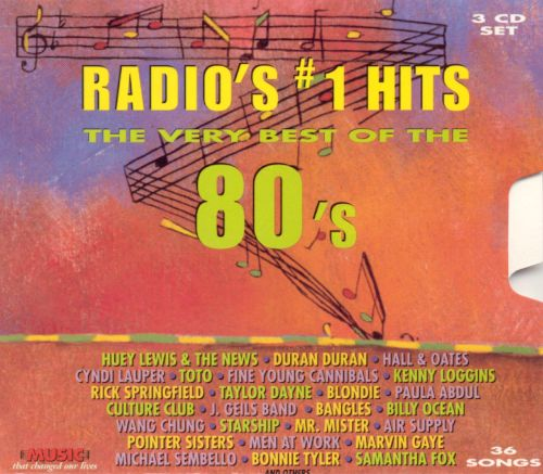 Radios 1 Hits The Very Best Of 80s