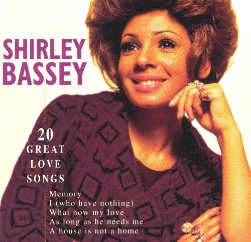 20 great love songs shirley bassey songs reviews credits allmusic. Black Bedroom Furniture Sets. Home Design Ideas