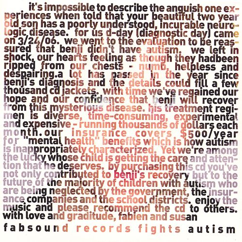 Fabsound Records Fights Autism