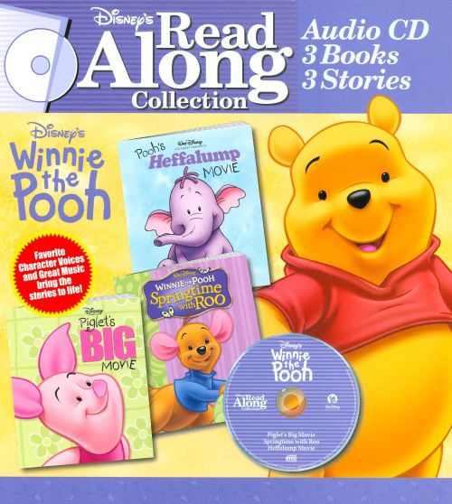 Winnie the Pooh: Spring Time with Roo/Pooh's Huffalump Movie/Piglets Big Movie [Read-Al
