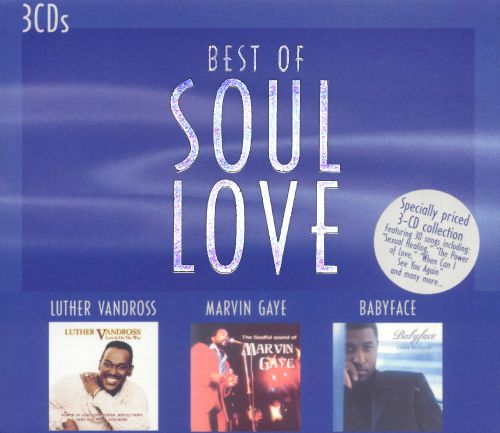 Best of Soul Love: Luther Vandross/Marvin Gaye