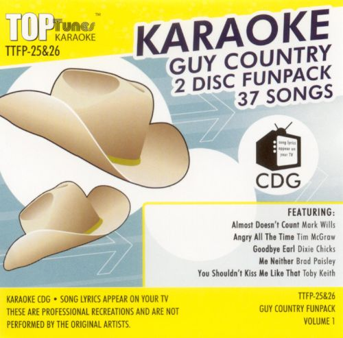 Top Tunes: Guy Country Funpack, Vol. 1