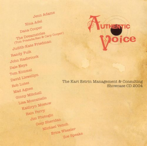 Authentic Voice: The Kari Estrin Management & Consulting Showcase 2004