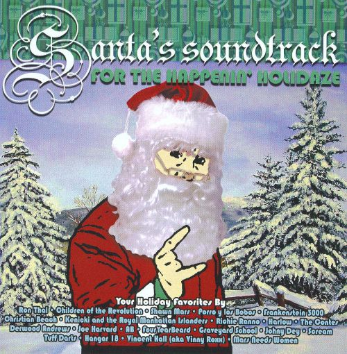 Santa's Soundtrack for the Happenin' Holidaze