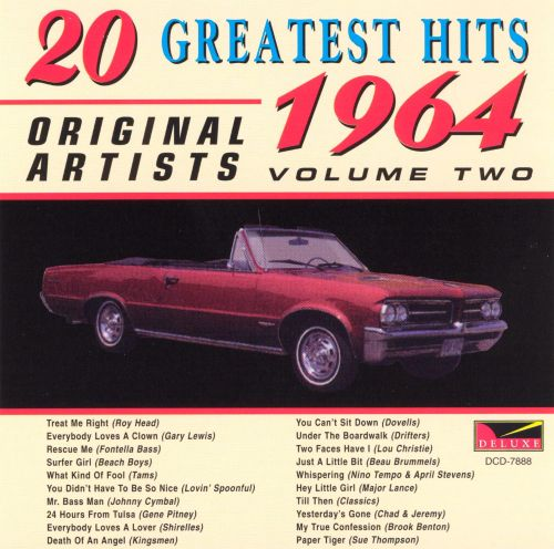 20 Original Hits, 1964, Vol. 2: Original Hits