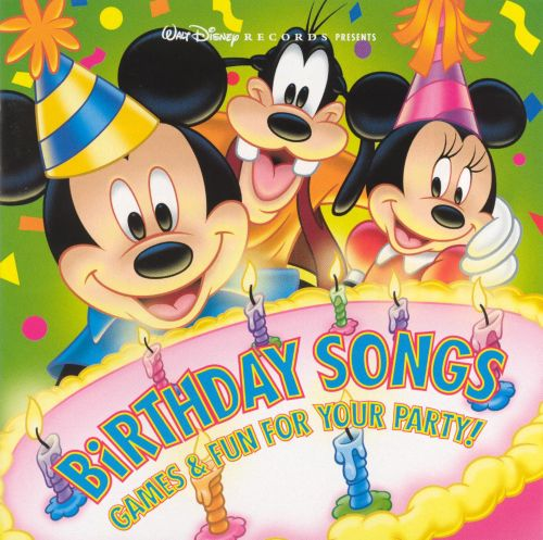 birthday songs games fun for your party disney songs