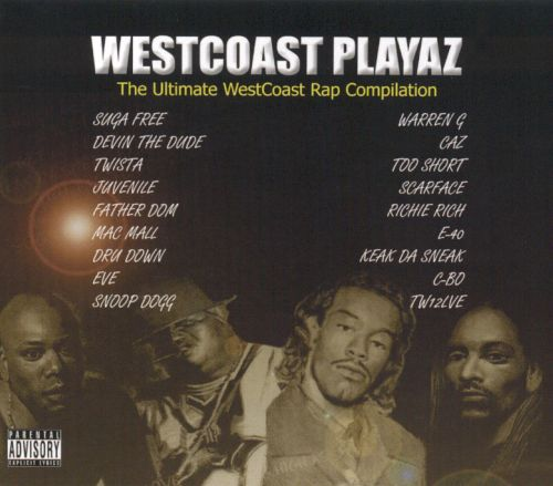 Westcoast Playaz: The Ultimate WestCoast Rap Compilation