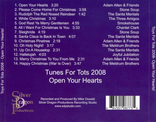 Tunes for Tots 2008: Open Your Hearts!
