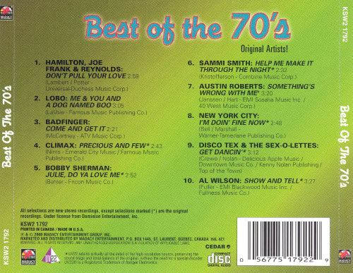 Best of the 70's [Green]
