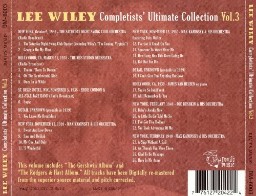 Completists' Ultimate Collection, Vol. 3