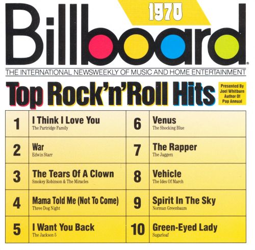 🔥 Billboard Year-End Hot 100 singles of 1970 - Wikipedia