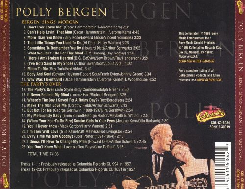 Bergen Sings Morgan/The Party's Over