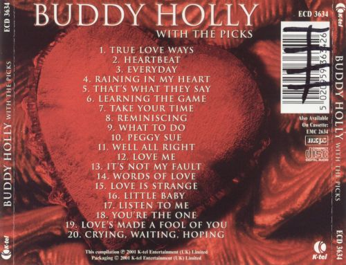 Buddy Holly with the Picks: Only the Love Songs
