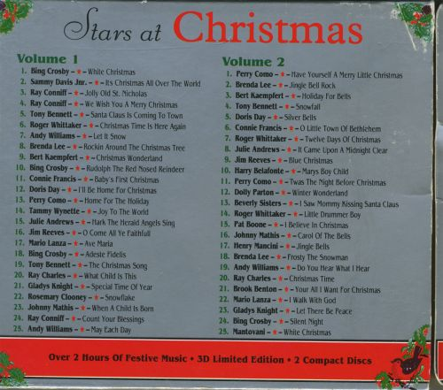 Stars at Christmas [Sony] - Various Artists | Songs, Reviews ...