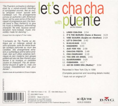 Let's Cha Cha with Puente