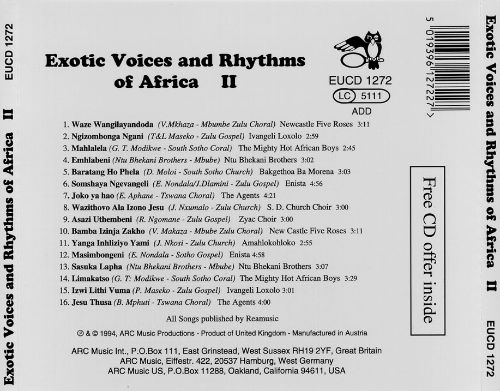 Exotic Voices & Rhythms of Africa [1994]