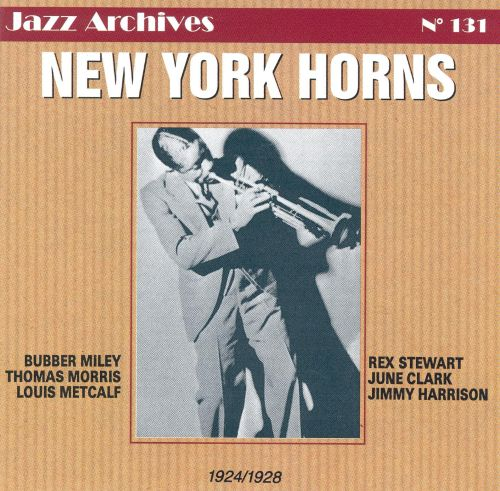 New York Horns: 1924-1928