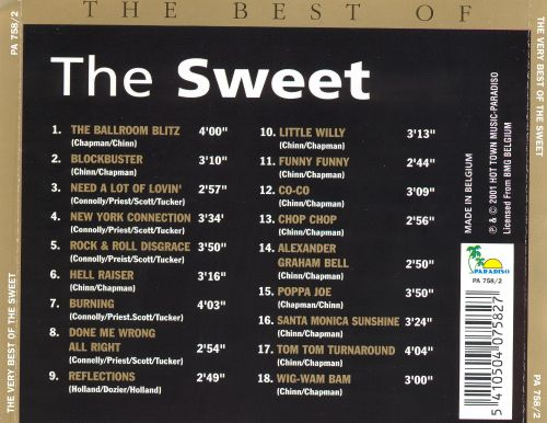The Very Best of the Sweet [BMG International]