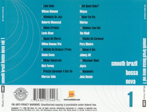 Smooth Brazil Bossa Nova, Vol. 1