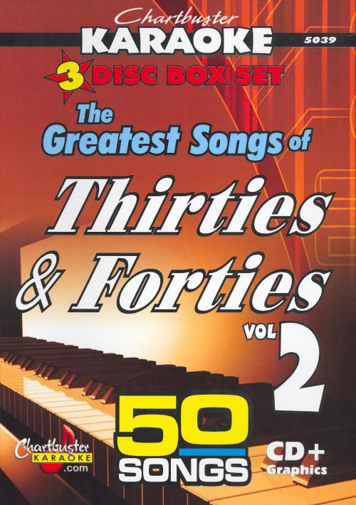 Chartbuster Karaoke: The Greatest Songs of Thirties & Forties, Vol. 2